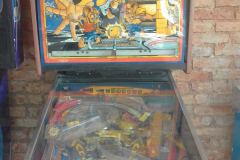 PINBALL MACHINE COSTA RICA 1989 BALLY MOUSIN AROUND