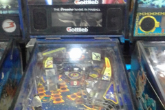 PINBALL MACHINE COSTA RICA 1993 GOTTLIEB STREET FIGHTER 2