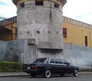 LIMOUSINE AND CASTLE. SAN JOSE COSTA RICA
